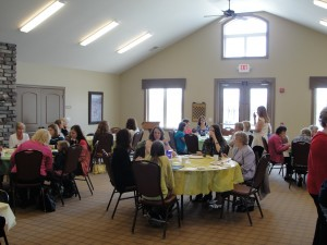 Speaking at Gull Lake Bible Church - Ladies Luncheon 5-11-13