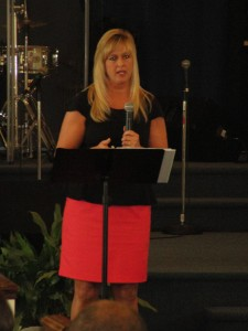 Speaking at Trenches Community Church